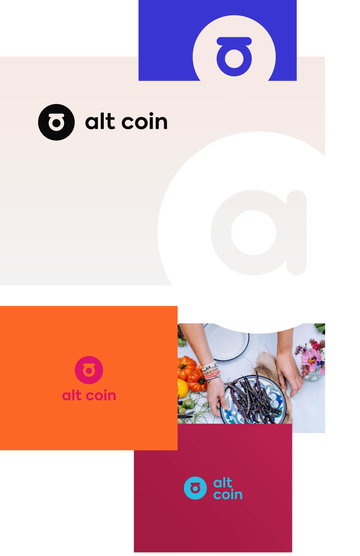 Altcoin-design-tech-startup